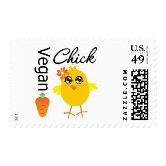 Polluelo 2 del vegano sellos
