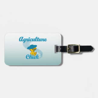Polluelo #3 de la agricultura etiquetas para maletas