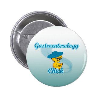 Polluelo #3 de la gastroenterología pin redondo de 2 pulgadas