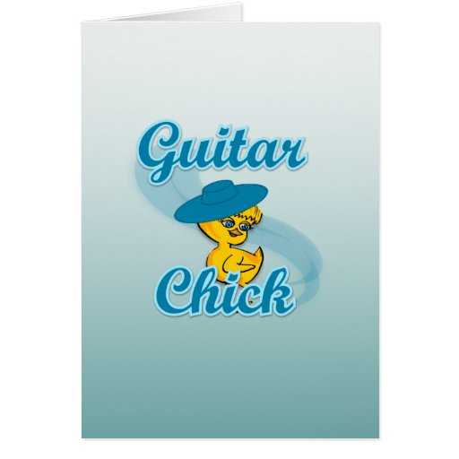 Polluelo #3 de la guitarra felicitacion