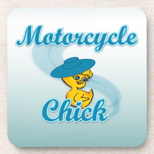 Polluelo #3 de la motocicleta posavasos de bebidas