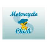 Polluelo #3 de la motocicleta postal