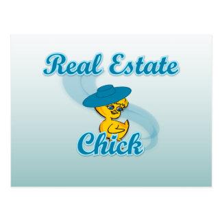 Polluelo #3 de las propiedades inmobiliarias tarjetas postales