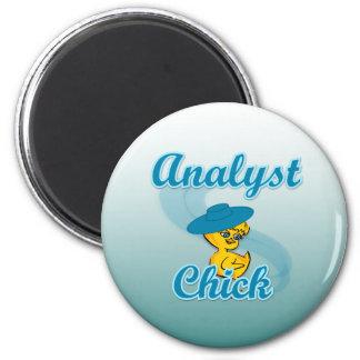 Polluelo 3 del analista iman de frigorífico