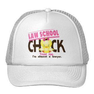Polluelo 3 del colegio de abogados gorros bordados