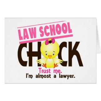 Polluelo 3 del colegio de abogados tarjetas