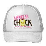 Polluelo 3 del dulce 16 gorras de camionero
