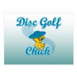 Polluelo #3 del golf del disco postal