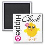 Polluelo 3 del Hippie Iman Para Frigorífico