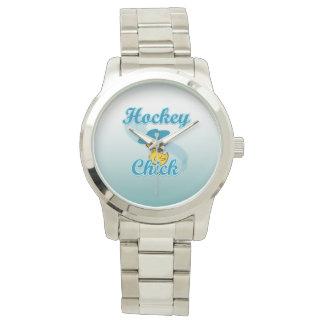 Polluelo #3 del hockey reloj de mano