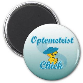 Polluelo 3 del optometrista iman de nevera