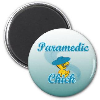 Polluelo 3 del paramédico imán para frigorífico