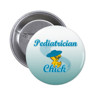 Polluelo #3 del pediatra pin redondo de 2 pulgadas