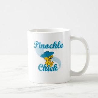 Polluelo #3 del Pinochle Tazas De Café