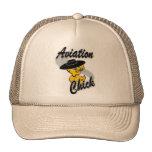 Polluelo #4 de la aviación gorras