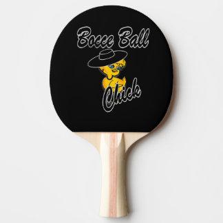 Polluelo #4 de la bola de Bocce Pala De Ping Pong