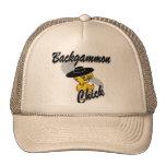 Polluelo #4 del backgammon gorra