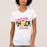 Polluelo 4 del café camisetas