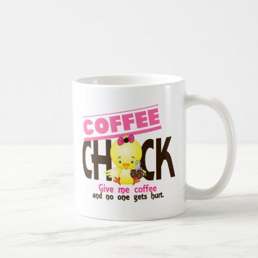 Polluelo 4 del café tazas