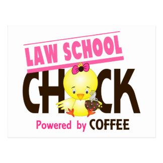 Polluelo 4 del colegio de abogados tarjeta postal