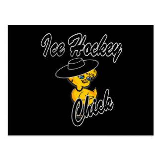 Polluelo #4 del hockey sobre hielo postal