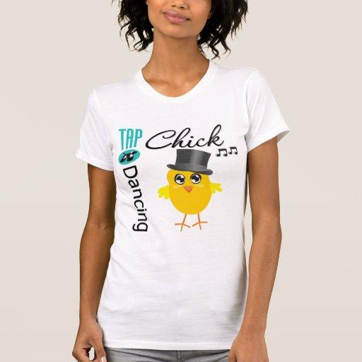 Polluelo 5 del baile de golpecito camisas