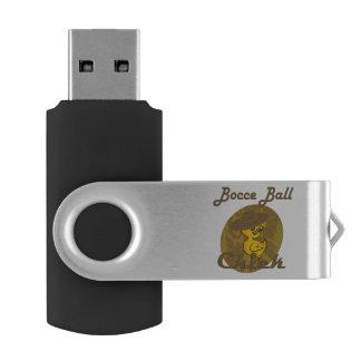 Polluelo #6 de la bola de Bocce Pen Drive Giratorio USB 2.0