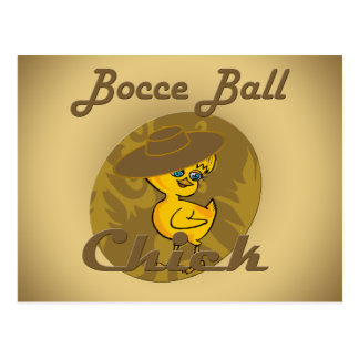 Polluelo #6 de la bola de Bocce Postal
