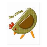 polluelo 70s postales