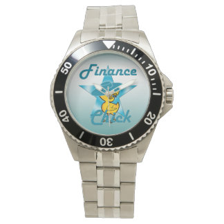 Polluelo #7 de las finanzas reloj de mano