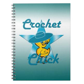 Polluelo #7 del ganchillo notebook