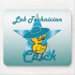 Polluelo #7 del técnico de laboratorio alfombrillas de ratón