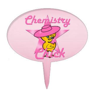 Polluelo #8 de la química decoraciones de tartas
