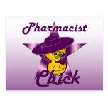 Polluelo #9 del farmacéutico postales