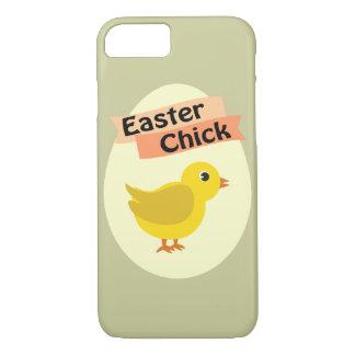 Polluelo amarillo de Pascua Funda iPhone 7