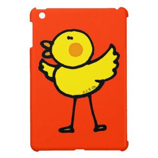 polluelo amarillo del bebé