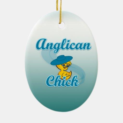 Polluelo anglicano #3 ornamente de reyes