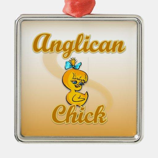 Polluelo anglicano ornamente de reyes