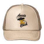 Polluelo australiano #4 gorras de camionero