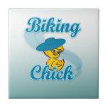 Polluelo Biking #3 Azulejo