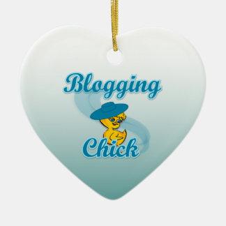 Polluelo Blogging #3 Adorno Navideño De Cerámica En Forma De Corazón