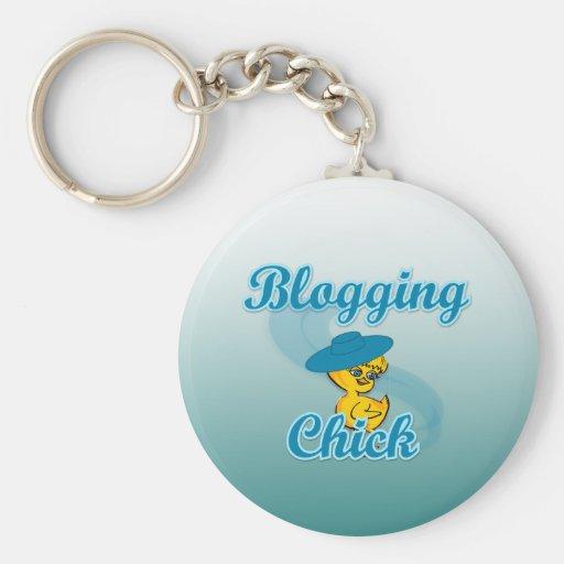 Polluelo Blogging #3 Llavero Personalizado
