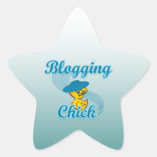 Polluelo Blogging #3 Calcomanía Forma De Estrella