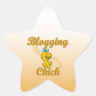 Polluelo Blogging Colcomanias Forma De Estrellas