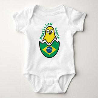 Polluelo brasileño playera