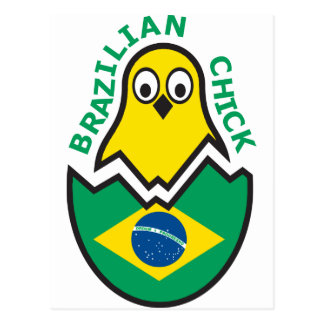 Polluelo brasileño postales