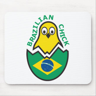 Polluelo brasileño tapete de ratones