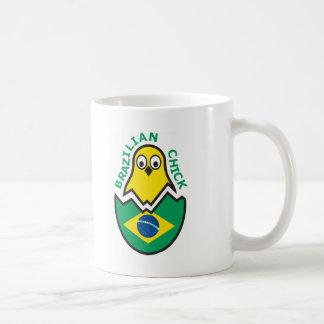 Polluelo brasileño taza clásica