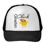 Polluelo canadiense gorras