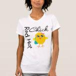 Polluelo candente 2 camisetas